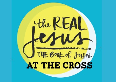 real jesus at the cross graphic